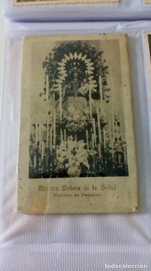 Postales: Espectacular album de postales antiguas marianas de multitud de advocaciones etc - Foto 29 - 139120470
