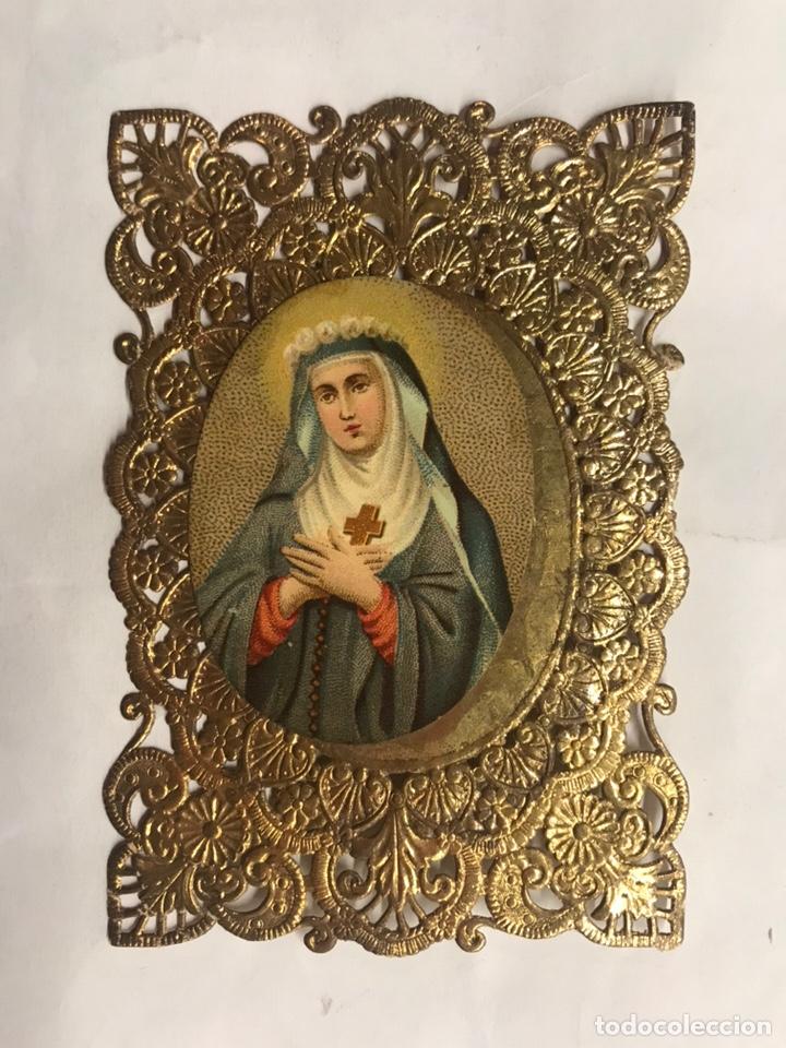 Santa Rita Hermosisima Estampa Religiosa Ca Kaufen Alte