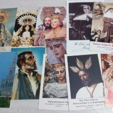 Postales: LOTE ESTAMPAS RELIGIOSAS. Lote 139284398