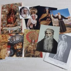 Postales: LOTE ESTAMPAS RELIGIOSAS. Lote 139284638