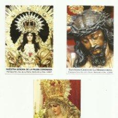 Postales: LOTE ESTAMPAS RELIGIOSAS CADIZ. Lote 139285766