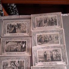 Postales: ANTIGUOS RECORDATORIOS, LOS 7 DOLORES Y GOZOS DE SAN JOSÉ. Lote 139997673