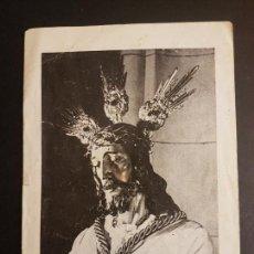 Postales: MALAGA NUESTRO PADRE JESUS CAUTIVO DIPTICO SEMANA SANTA. Lote 140530878