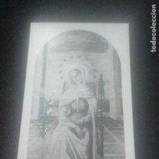 Postales: RECORDATORIO HIJAS DE MARÍA. COLEGIO SAGRADO CORAZÓN BILBAO 1947. Lote 140662770