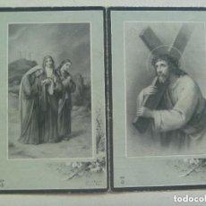 Postales: RECORDATORIO DE SEÑORA FALLECIDA EN 1954 EN MADRID. Lote 140954714