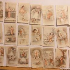 Postales: 21 ESTAMPAS . 6 X 10 CM. Lote 141606909