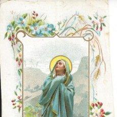 Postales: ESTAMPA RELIGIOSA. MADRE DE LOS DOLORES. Lote 141806938