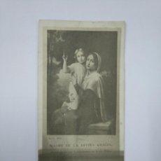 Postales: CARTA POSTAL MADRE DE LA DIVINA GRACIA. TDKP13. Lote 141932574