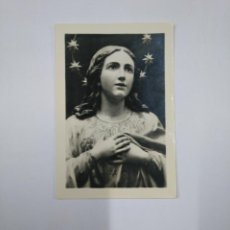 Postales: ESTAMPA FOTOGRAFICA VIRGEN MARIA. TDKP13. Lote 141934182