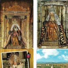 Postales: BONITA COLECCION DE 48 POSTALES DE LA VIRGEN MARIA 21 NUEVAS 27 CIRCULADAS. Lote 142133974