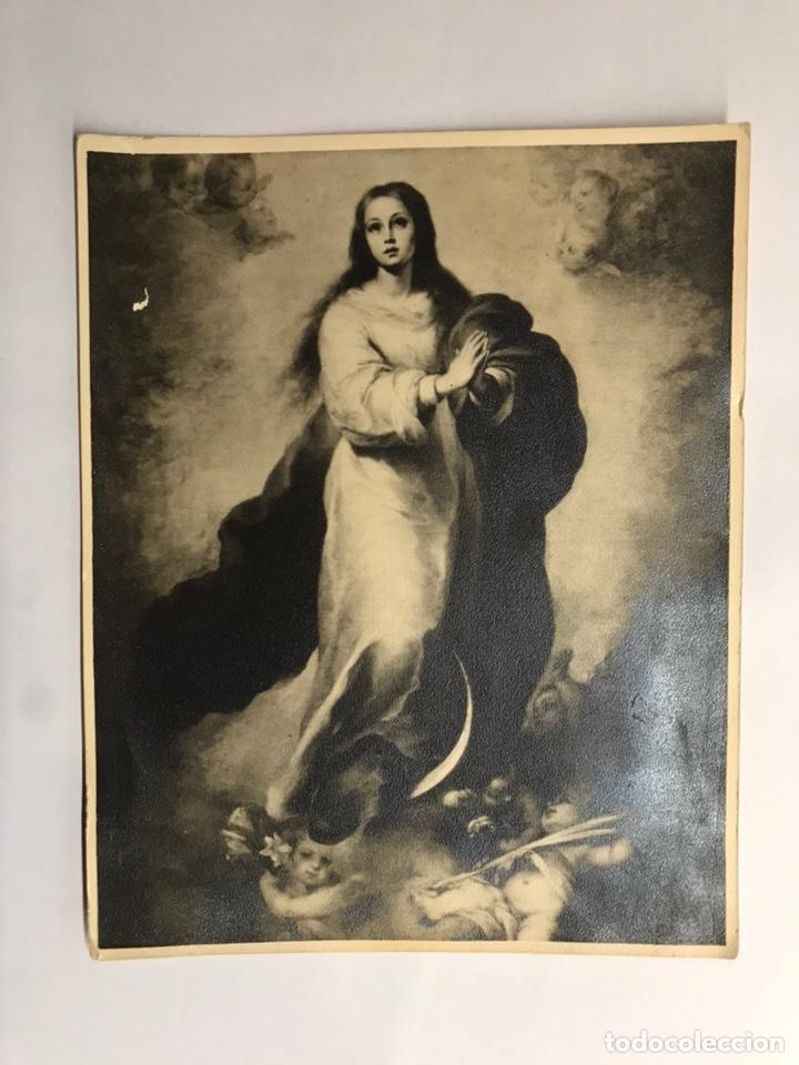 INMACULADA. ESTAMPA RELIGIOSA RECORDATORIO (H.1940) (Postales - Postales Temáticas - Religiosas y Recordatorios)
