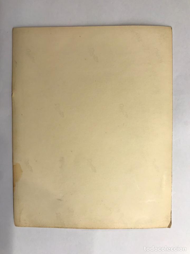 Postales: INMACULADA. Estampa Religiosa Recordatorio (h.1940) - Foto 2 - 142829181