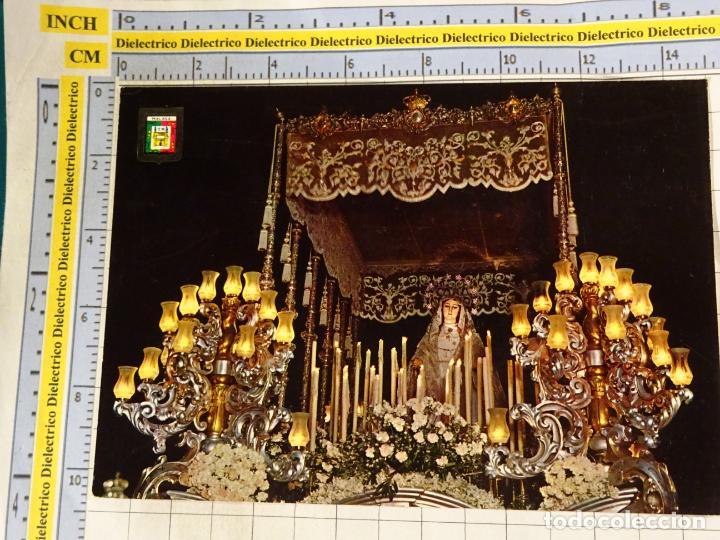 POSTAL RELIGIOSA SEMANA SANTA DE MÁLAGA. AÑO 1964. LA VIRGEN DEL ROCÍO. 648 (Postcards - Themed - Religious and In Memoriam Cards)