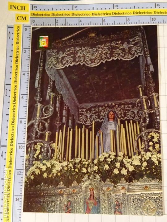 POSTAL RELIGIOSA SEMANA SANTA DE MÁLAGA. AÑO 1967. MARÍA SANTÍSIMA LA VIRGEN DEL ROCÍO. 649 (Postcards - Themed - Religious and In Memoriam Cards)