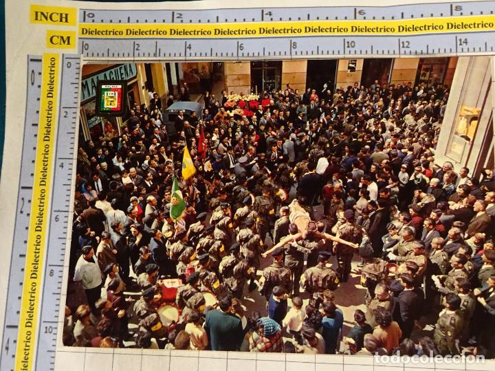 POSTAL RELIGIOSA SEMANA SANTA DE MÁLAGA. AÑO 1964. CRISTO ANIMAS DE CIEGOS. SOLDADOS BRIPAC. 650 (Postales - Postales Temáticas - Religiosas y Recordatorios)