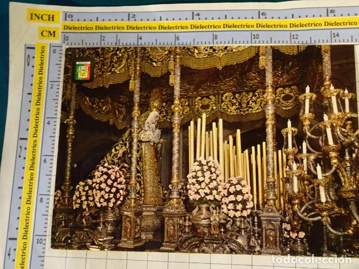 POSTAL RELIGIOSA SEMANA SANTA DE MÁLAGA. AÑO 1967. MARÍA SANTÍSIMA DE LOS DOLORES. 653 (Postales - Postales Temáticas - Religiosas y Recordatorios)