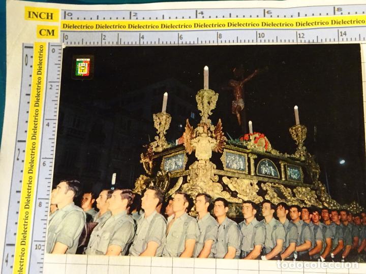 POSTAL RELIGIOSA SEMANA SANTA DE MÁLAGA. AÑO 1971. SANTÍSIMO CRISTO MUTILADO. SOLDADOS. 654 (Postales - Postales Temáticas - Religiosas y Recordatorios)