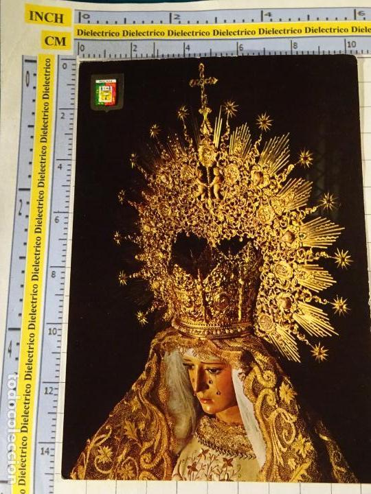 POSTAL RELIGIOSA SEMANA SANTA DE MÁLAGA. AÑO 1967. MARÍA SANTÍSIMA DE LA ESPERANZA. 655 (Postales - Postales Temáticas - Religiosas y Recordatorios)