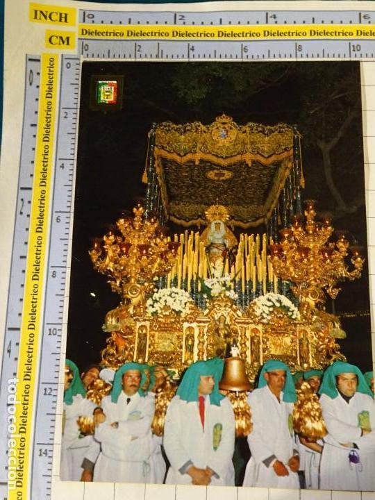 POSTAL RELIGIOSA SEMANA SANTA DE MÁLAGA. AÑO 1975. MARÍA SANTÍSIMA DE LA ESPERANZA. 656 (Postales - Postales Temáticas - Religiosas y Recordatorios)