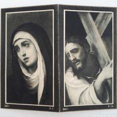 Postales: CISTIERNA ( LEÓN ) RECORDATORIO DE DEFUNCIÓN. 1954. Lote 143137501