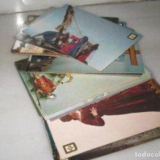 Postales: COLECCION DE 22 POSTALES RELIGIOSAS. ZAMORA.. Lote 143244650