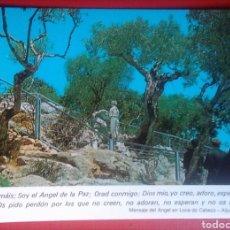 Postales: POSTAL PORTUGAL FÁTIMA LOCA DO CABECO LUGAR DE LA APARICIÓN DEL ANGEL. Lote 143542214