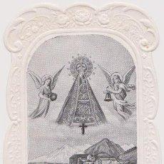 Postales: MAGNIFICA ESTAMPA CALADA, STA. MARIA DE NURIA, PREGUEU PER NOSALTRES - (11X6,5). Lote 143668726