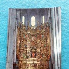 Postales: SANTO DOMINGO DE LA CALZADA. LOGROÑO. RETABLO DE LA CATEDRAL.. Lote 143702350