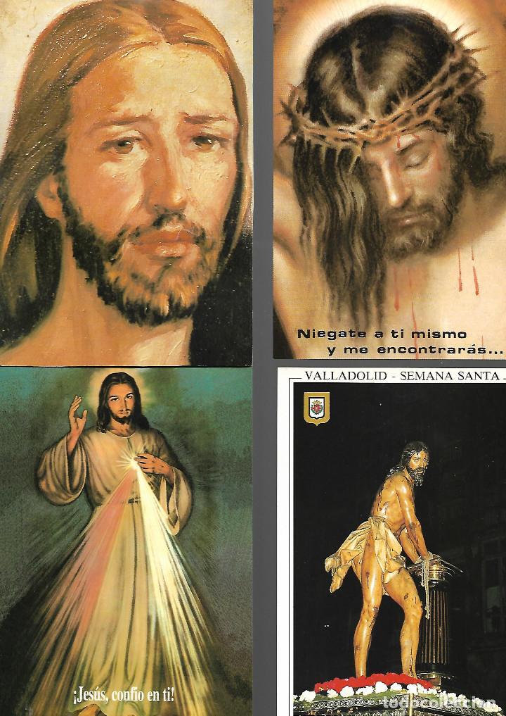 PRECIOSA COLECCION DE 20 POSTALES DE JESUS 18 NUEVAS 2 CIRCULADAS (Postales - Postales Temáticas - Religiosas y Recordatorios)