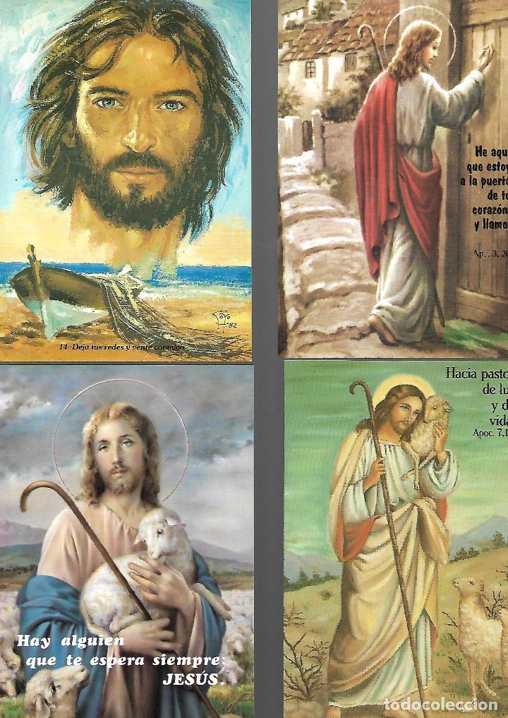 Postales: PRECIOSA COLECCION DE 20 POSTALES DE JESUS 18 NUEVAS 2 CIRCULADAS - Foto 2 - 143787614