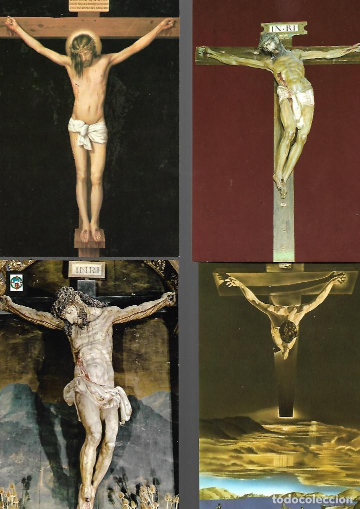 Postales: PRECIOSA COLECCION DE 20 POSTALES DE JESUS 18 NUEVAS 2 CIRCULADAS - Foto 3 - 143787614