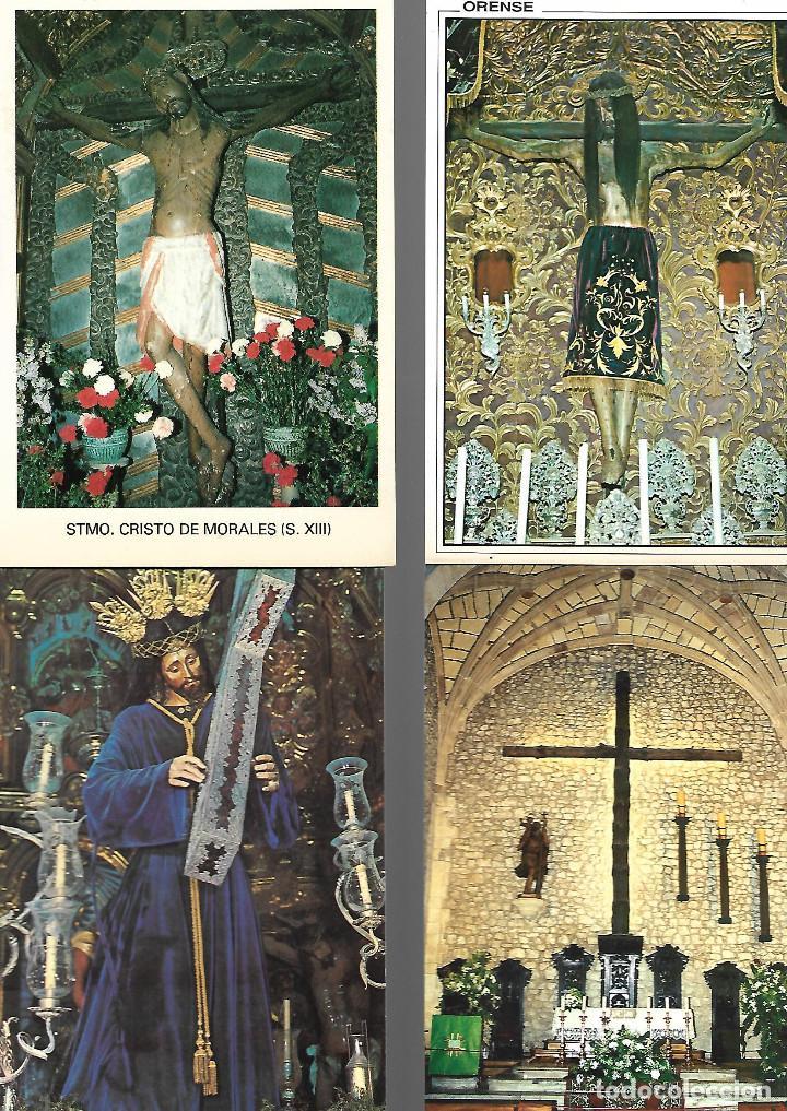 Postales: PRECIOSA COLECCION DE 20 POSTALES DE JESUS 18 NUEVAS 2 CIRCULADAS - Foto 4 - 143787614