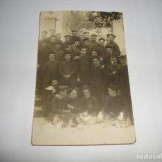 Postales: (ALB-TC-40) INTERESANTE POSTAL CIRCULADA CON SELLO 1914 SACERDOTES CON SU BONETE MAS DE 100 AÑOS. Lote 144592706