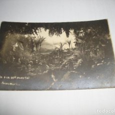Postales: (ALB-TC-40) CURIOSA POSTAL BELEN DE LOS HERMANOS MARISTA CIRCULADA CON SELLO 1918 PALMA ROLA VICH. Lote 144640842