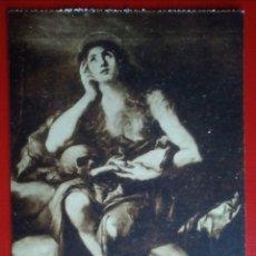 Postales: POSTAL LA MAGDALENA PENITENTE RIBERA MUSEO DEL PRADO. Lote 144772353