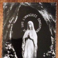 Postales: LOURDES. LA VIERGE DE LA GROTTE. SIN CIRCULAR.. Lote 144869326