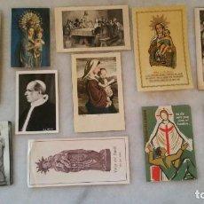 Postales: LOTE ESTAMPAS RELIGIOSAS. Lote 145360414