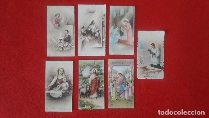 RECORDATORIOS COMUNION AÑOS 50 (Postales - Postales Temáticas - Religiosas y Recordatorios)