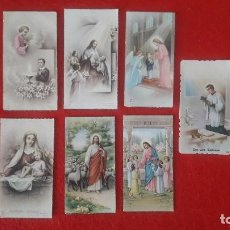Postales: RECORDATORIOS COMUNION AÑOS 50. Lote 145385522