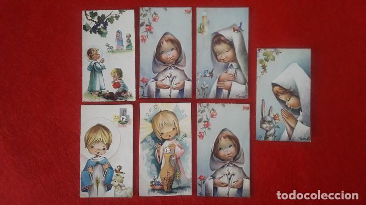 RECORDATORIOS COMUNION AÑOS 60 (Postales - Postales Temáticas - Religiosas y Recordatorios)