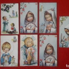 Postales: RECORDATORIOS COMUNION AÑOS 60. Lote 145385750