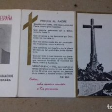Postales: RECORDATORIO IN MEMORIAM DIOS Y ESPAÑA, FRANCISCO FRANCO BAHAMONDE, CAUDILLO DE ESPAÑA. Lote 145415814