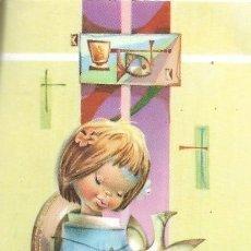 Postales: == NA162 - RECORDATORIO DE PRIMERA COMUNION - VALENCIA 1965. Lote 145940806