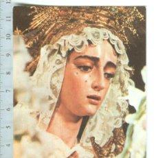 Postales: SEMANA SANTA DE SEVILLA. CURIOSA ESTAMPA CARNET DE HERMANA DE LA HERMANDAD DE SAN GONZALO. Lote 146439602
