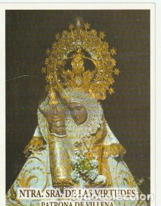 ESTAMPA NTRA. SRA. DE LAS VIRTUDES PATRONA DE VILLENA --C-9 (Postales - Postales Temáticas - Religiosas y Recordatorios)