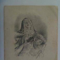 Postales: RECORDATORIO DE SEÑORA FALLECIDA EN BARCELONA EN 1960.. Lote 146611438