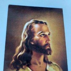 Postales: POSTAL DE JESÚS CRISTO. TEXTO EXPLICATIVO DE LOS LEGIONARIOS DE CRISTO. ONTANEDA, CANTABRIA. Lote 146966298