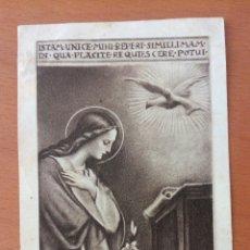 Postales: ESTAMPA RELIGIOSA. RECUERDO DE EJERCICIOS ESPIRITUALES.. Lote 146979281