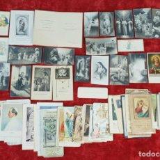 Postales: COLECCION DE 88 ESTAMPAS RELIGIOSAS. PAPEL IMPRESO. SIGLO XX. . Lote 147010738