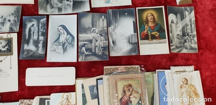 Postales: COLECCION DE 88 ESTAMPAS RELIGIOSAS. PAPEL IMPRESO. SIGLO XX. - Foto 5 - 147010738